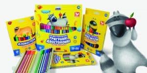 олівці, фломастери